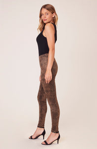 Sidewinder Legging in Brown