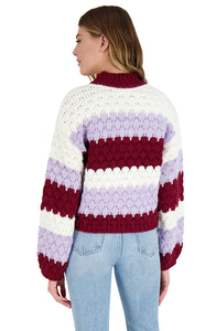 Hot Balloon Sweater in Steel Lavender