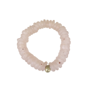 Joy Bracelet in Rose Quartz