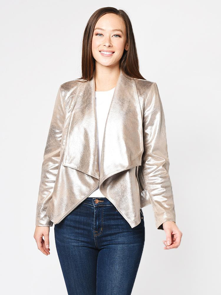 Oslo Jacket in Silver Toffee