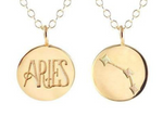 Load image into Gallery viewer, Reversible Zodiac Necklace in Aries