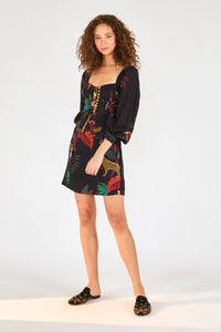 Jungle Colors Mini Dress