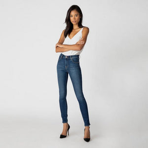 Maria High Rise Skinny Jean in Fleeting