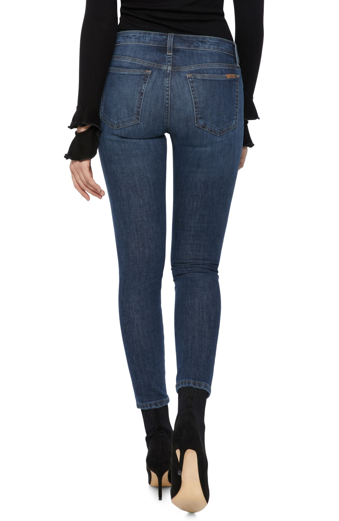 Mid Rise Skinny Ankle Jean in Frances