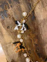 Load image into Gallery viewer, Long Trinket Horse Necklace