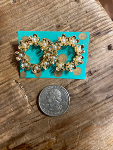 Blossom Wreath Earring in Gold
