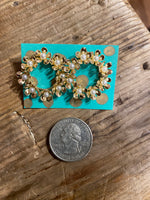 Load image into Gallery viewer, Blossom Wreath Earring in Gold