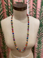 Load image into Gallery viewer, Long Disco Necklace in Multi Combo #1