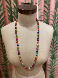 Long Disco Necklace in Multi Combo #1