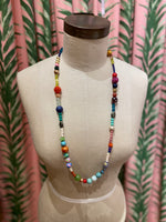 Load image into Gallery viewer, Long Disco Necklace in Multi Combo #2