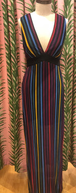 Load image into Gallery viewer, Pleated Maxi Dress in Multi