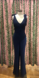 Load image into Gallery viewer, Topeka Tie Strap Jumpsuit in Lapis
