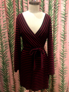 All Day Everyday Dress in Maroon
