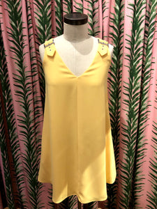 Macey Dress in Lanai Yellow