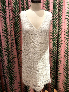 Lost In Lace Dress in Ivory