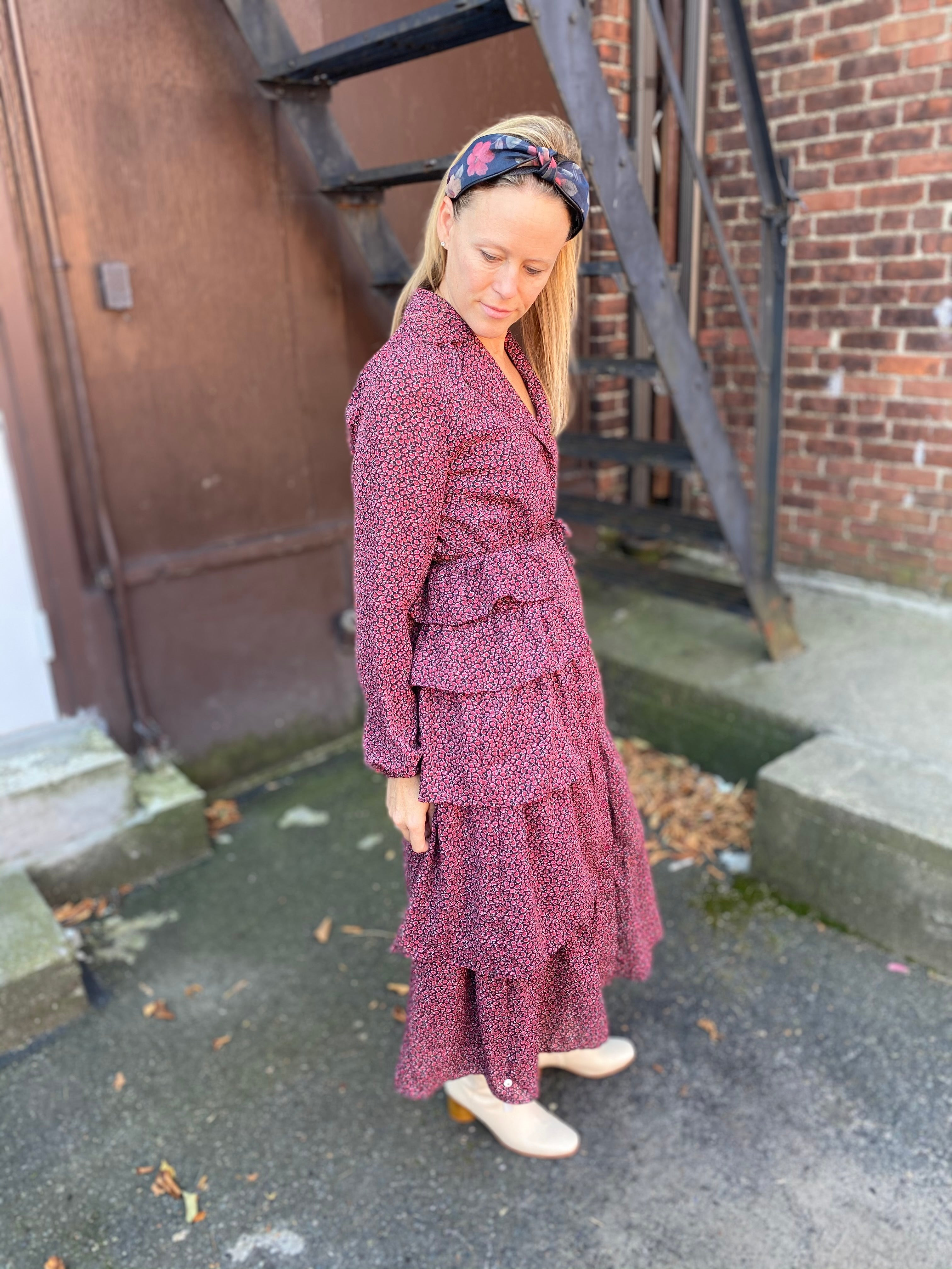 Urban Prairie Dress in Rosebud