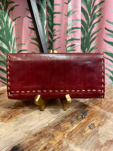 Leather Wallet in Brown