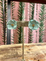 Load image into Gallery viewer, Buttercup Stud in Mint