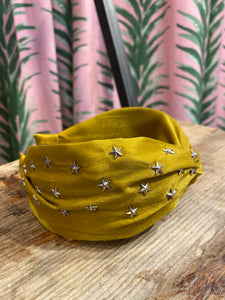 Star Headband in Mustard