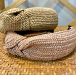 Load image into Gallery viewer, Rattan Headband in Natural