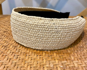 Rattan Headband in Light Natural