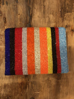Load image into Gallery viewer, Striped Beaded Bag in Multi