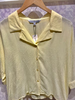 Load image into Gallery viewer, Abra Textured Blouse in Pear Sorbet