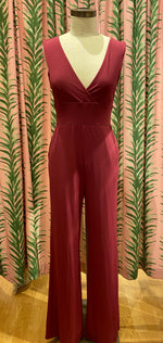 Load image into Gallery viewer, Wide Leg Jumpsuit in Wine