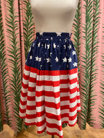 Load image into Gallery viewer, Stars and Stripes Skirt