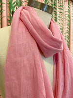 Load image into Gallery viewer, Cashmere Scarf in Pink