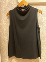 Load image into Gallery viewer, Bethel Tencel Tank in Black