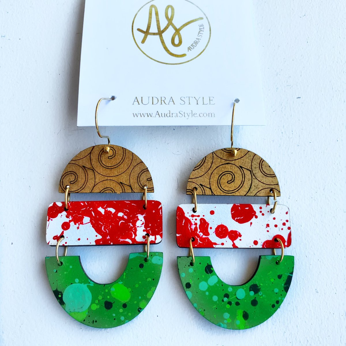 Holiday Cheer Earring