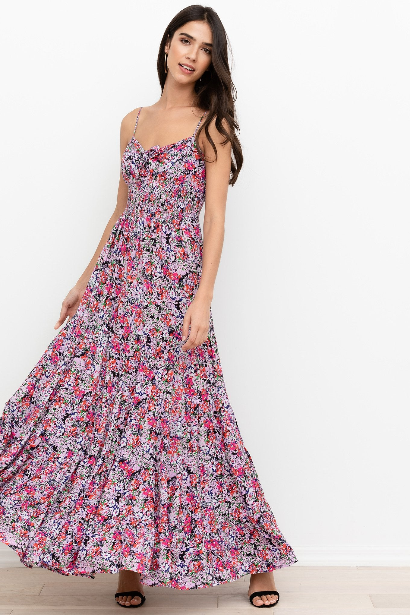 Ines Maxi Dress in Rhapsody Lilac
