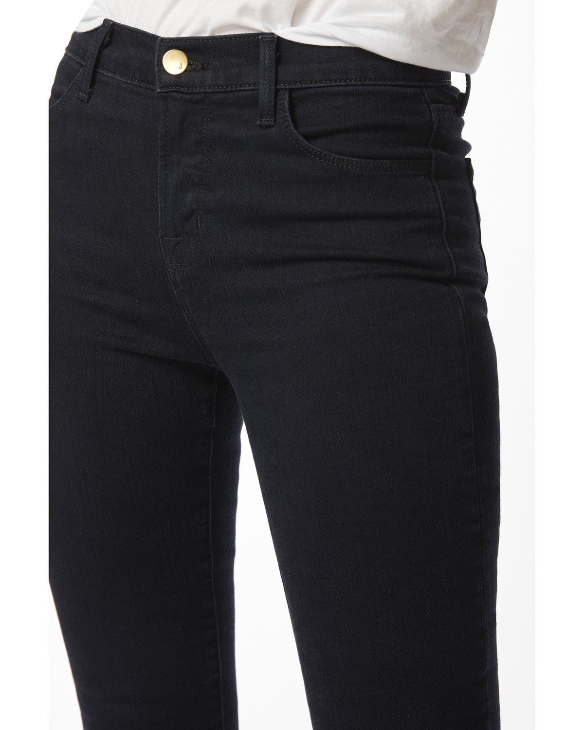 Maria High Rise Skinny Jean in Bluebird