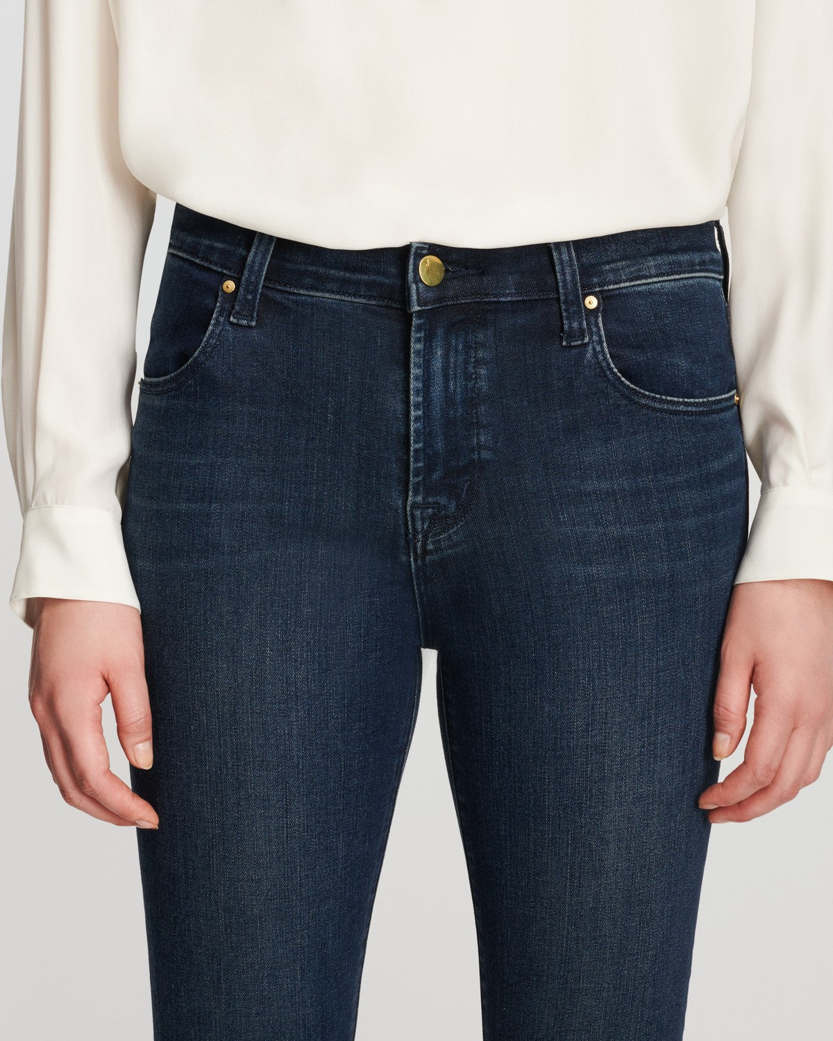 Alana High Rise Skinny Ankle Jean in Fix