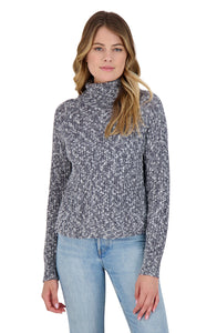 Warm Factor Sweater in Deep Ocean