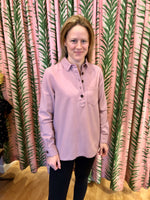 Load image into Gallery viewer, Ashbrook Popover Shirt in Dusty Mauve
