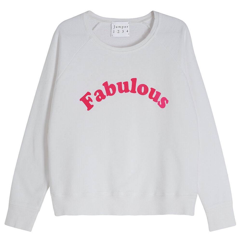 Fabulous Sweatshirt in Pink Flock