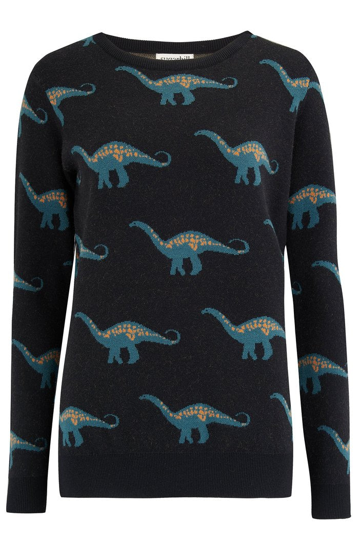 Lizzie Happy Herbivore Sweater