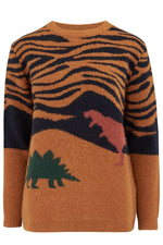 Load image into Gallery viewer, Laverne Lost Dinosaur Sweater