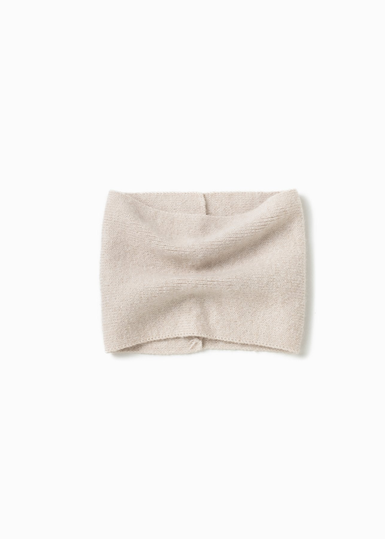 Basic Neck Warmer in Ivory
