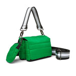 Load image into Gallery viewer, Tammy Mini Bag in Kelly Green Noir