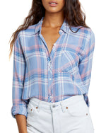 Load image into Gallery viewer, Hunter Plaid Shirt in Harbor Pink