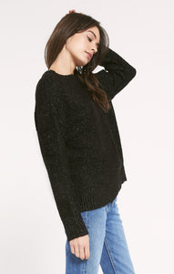 Westbourne Sweater in Black Marl