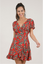 Load image into Gallery viewer, Poppy Printed Dress
