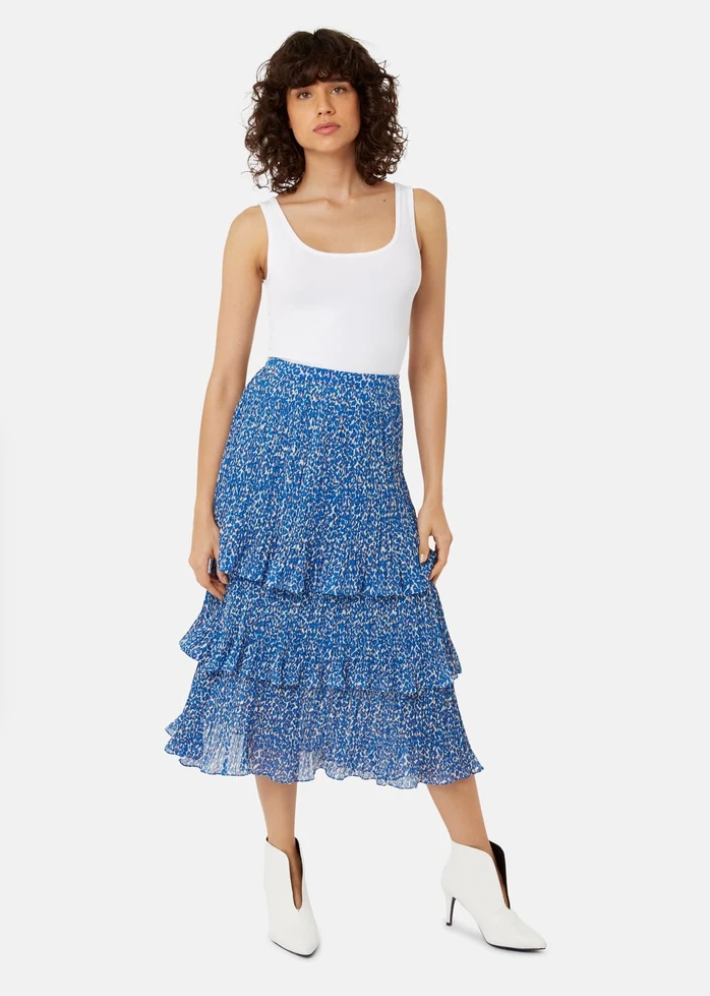 Maxi Rara Tiered Skirt