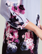 Load image into Gallery viewer, Lyris Dress in Purple Floral