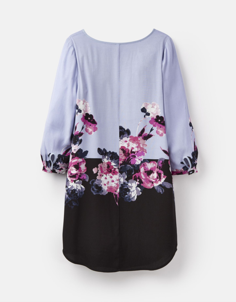Lyris Dress in Purple Floral