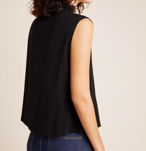 Bethel Tencel Tank in Black