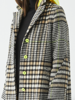 Load image into Gallery viewer, Zoe Jacket in Camel Check